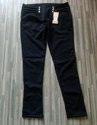 Spodnie legginsy Japan style czaszka