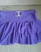 Mini spódniczka fioletowa