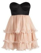Lipsy London VIP Wire Frill Dress...