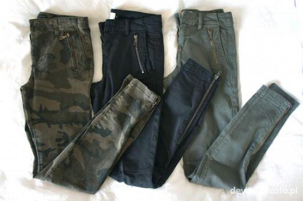 Spodnie militarnie