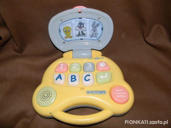 Zabawki laptop dla najmłodszych