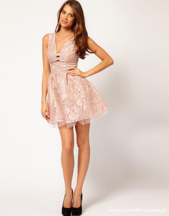 Na specjalne okazje ASOS koronkowa sukienka