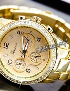zegarek z cyrkoniami