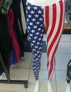leginsy flaga USA