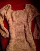 sweterek kolorou łososiowego