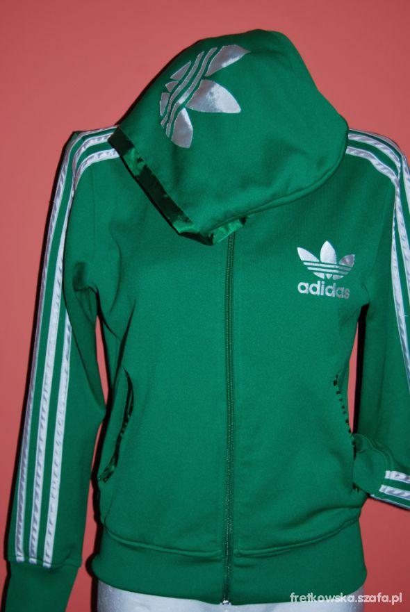 BLUZA adidas orginalna 14 zielona