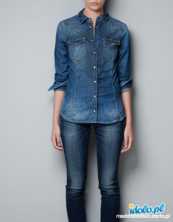 Jeans koszula