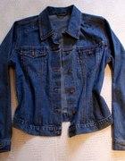 Kurtka katanka jeansowa L XL ćwieki
