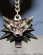 Medalion srebrny Wilk z Wiedźmina