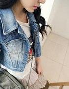kurteczka jeansowa krótka