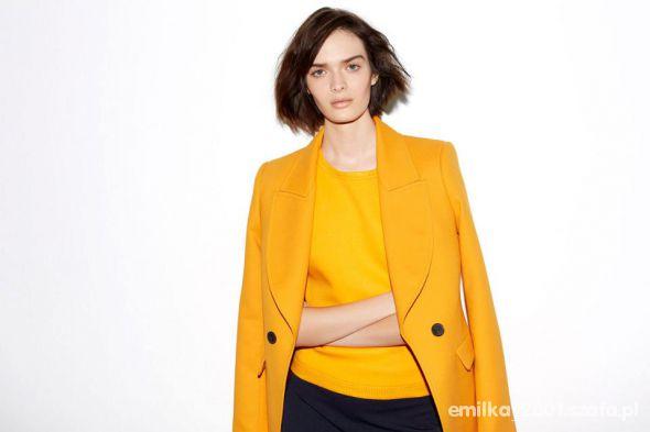 Eleganckie ZARA Płaszcz
