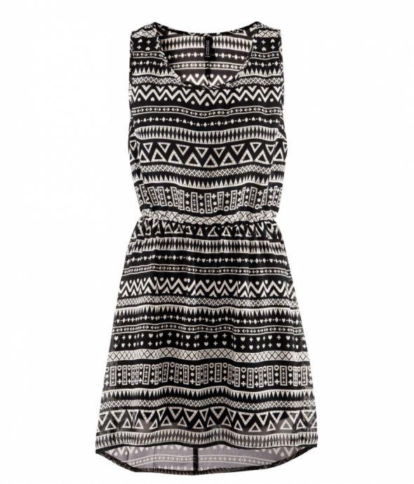 4777ca0178 Sukienka HM w azteckie wzory w Suknie i sukienki - Szafa.pl
