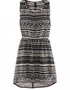 Sukienka H&M w azteckie wzory...