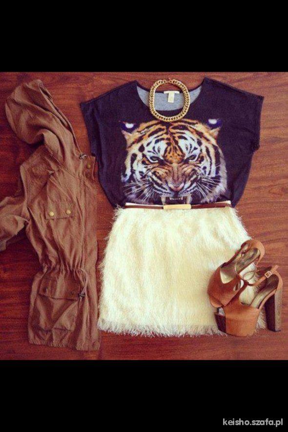 Tygrysia drapieżna stylówka