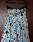 Sukienka Hell Bunny w kolorowe gwiazdy