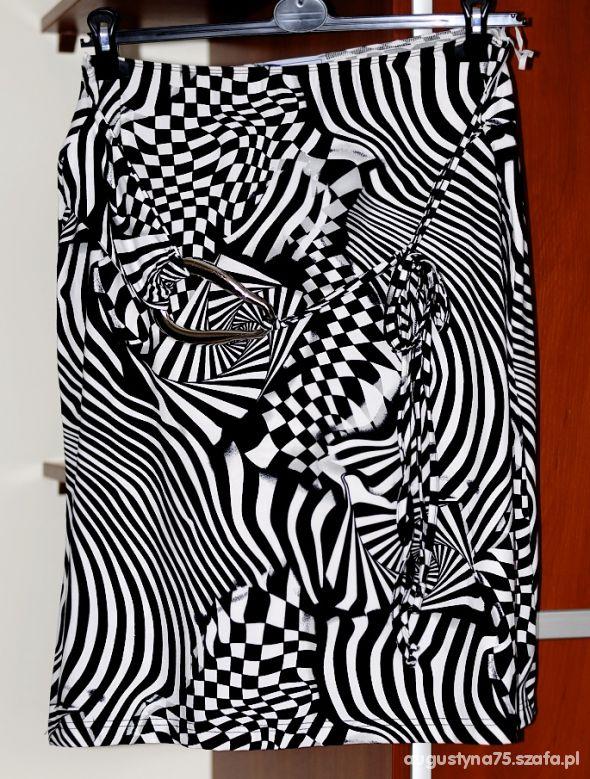 Spódnice Biało czarna spódnica