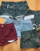 szorty jeans DIY Blogerskie