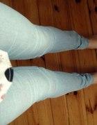 dżinsowe legginsy rozmiar 38 H&M nieużywane