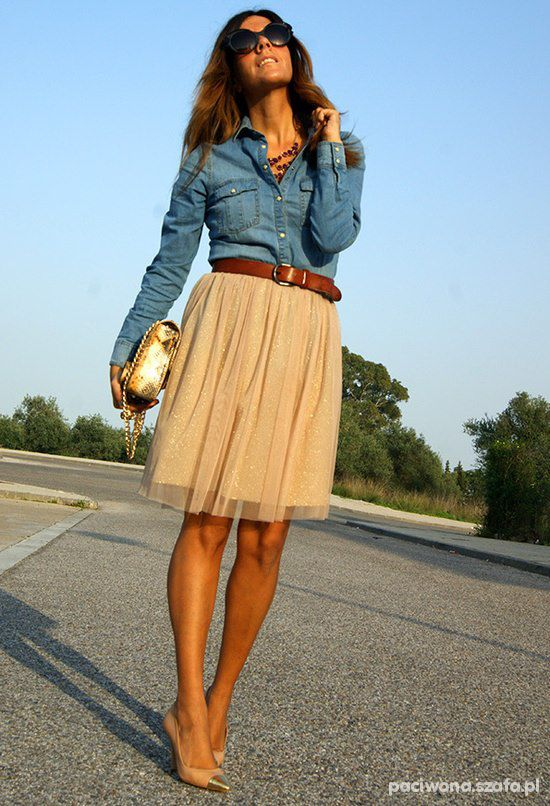 jeans i plisy...