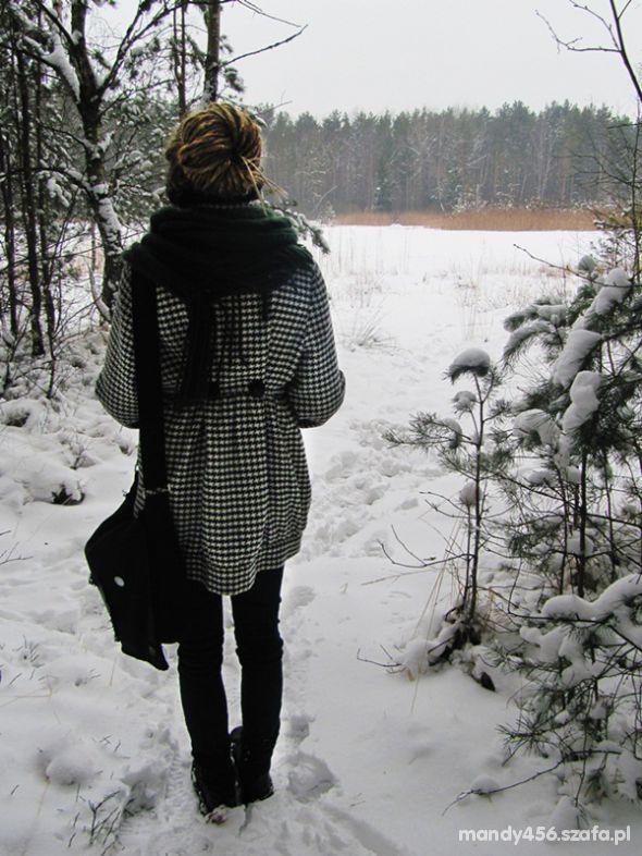 Mój styl Retro płaszcz i dredy czyli po mojemu