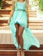 boska miętowa sukieneczka