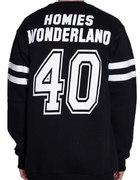 HOMIES WONDERLAND OE 800 Football Team Crew...