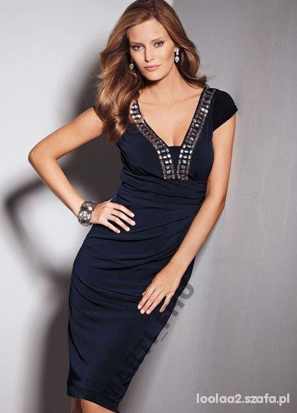 Eleganckie Elegancka sukienka