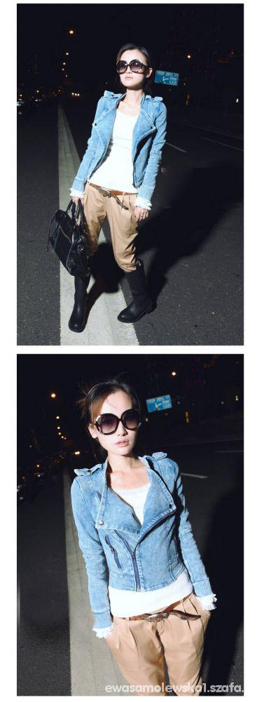 Japan Style ramoneska jeans
