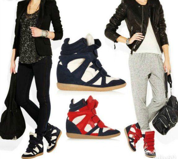 Codzienne Isabel Marant Sneakers styl miejski na co dzien