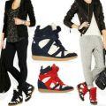 Isabel Marant Sneakers styl miejski na co dzien