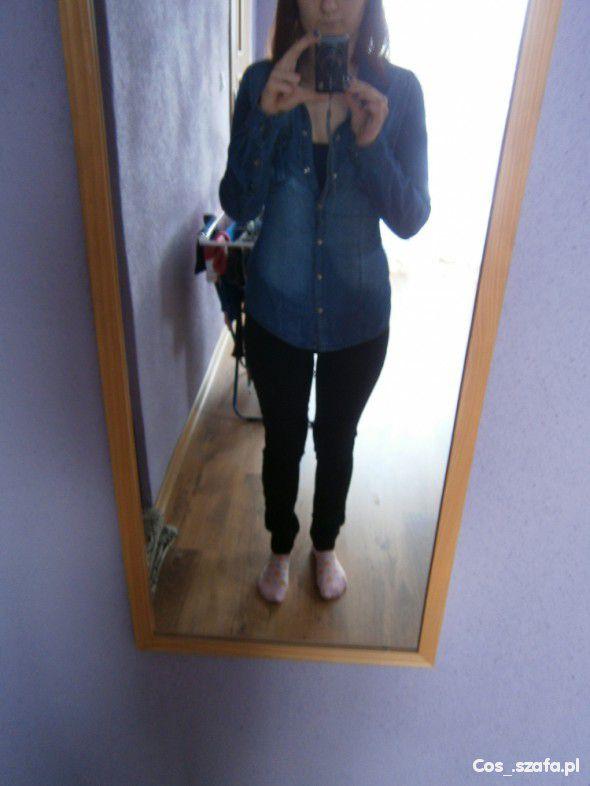 jeansowa koszula jasna