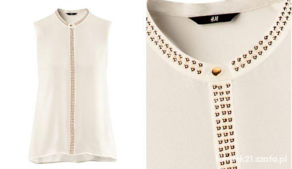 H&M bluzka ćwieki...
