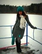 zimowa szarość turkusu