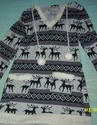 sweter w renifery...