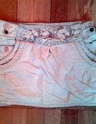 jeansowa spódniczka rozmiar 34...