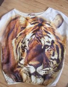 oversize tygrys BERSHKA...