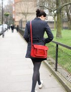 red cambridge satchel