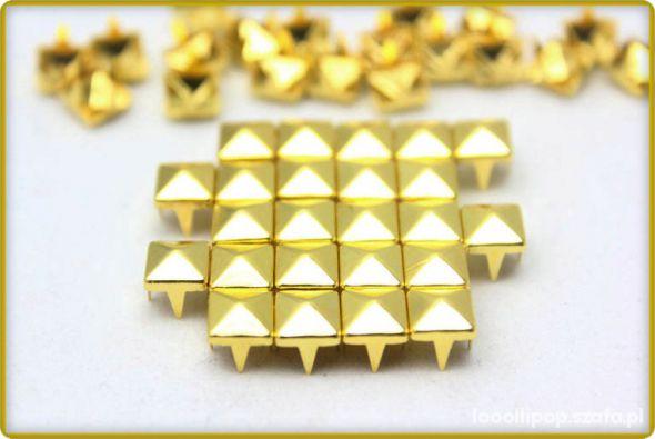 Pozostałe złote cwieki piramidki