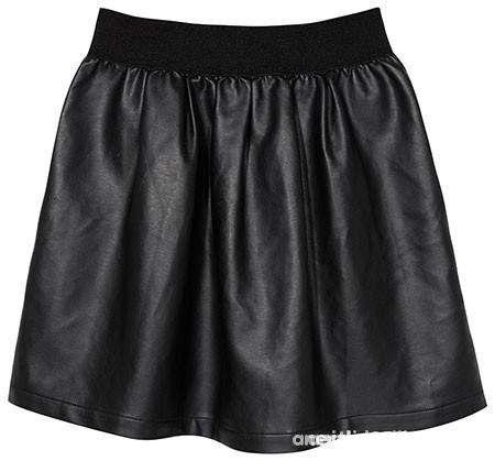 Skózana rozkloszowana spódnica M