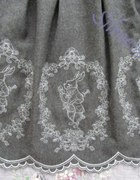 Alice in Wonderland White Rabbit Embroidery Coat