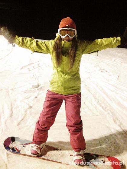 Sportowe snowboard