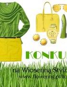 Żółto zielono wiosennie