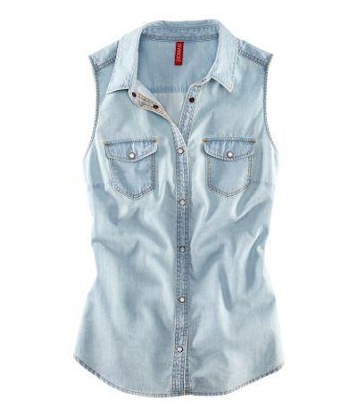 Koszula H&M jeansowa