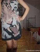 sukienka tiger grunge zara