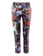 Spodnie w kwiaty H&M