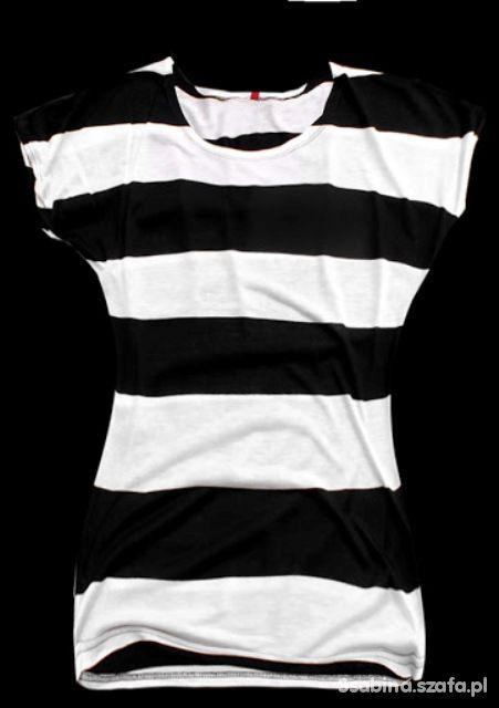 bluzka w paski modna xxl