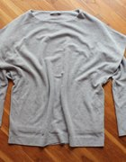 COS by H&M 36 38 szara bluza origami oryginalna