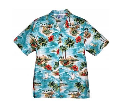 Męskie koszule hawajskie
