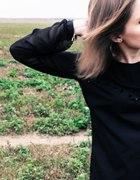 czarna koszula tunika ajdesign
