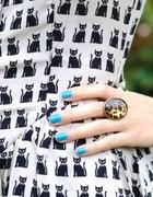 sukienka h&m kot w koty